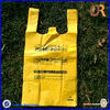 high quality custom print resealable plastic t-shirt bags