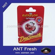 glade air freshener/plastic air deodorizer/car air aromatics