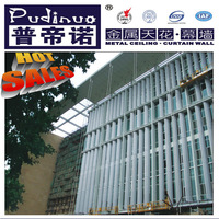Chain good quality competitive price luxury slat exterior aluminum rolling shutters