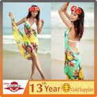 2014 fashion swimwear sarong