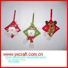 Christmas decoration ZY10S130 5.5'' santa claus shoes