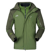 Green waterproof jacket outdoor jackets