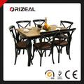 Solid madeira cozinha mesa e cadeiras oz-te-005