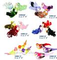 la decoración de navidad artificiales y pluma de las aves de la espuma de embarcaciones