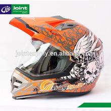 ABS material ECE motorcycle full face cross helmet