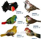 Ornamental fake birds toy