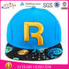 Small order custom wholesale blank cotton twill snapback cap blank snapback