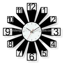 Customizable fashion creative design metal novelty clock