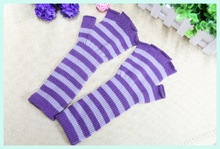 knit elbow length gloves