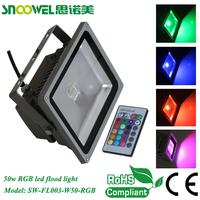 Meanwell driver high quality high power rgb 50 watt led flood light