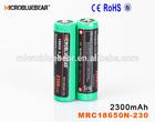 Original Wholesale AW IMR Battery 18650 2300mAh