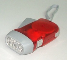 Hand Press dynamo led Flashlight & torch manufacturer