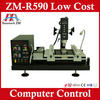built-in PC serial port infrared smd/smt rework station ZM-R590 connect with computer