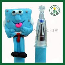 unbreakable spoonge bob cartoon custom refill ink gel pen
