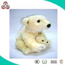 OEM/ODM Factory Price Good Quality Stuffed Soft Cute White Plush Polar Bear