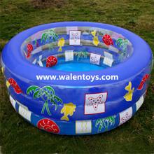 inflatable paddling pool, round swimming pool,kids fun cartoon