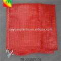 Caiyuan top venda barato PP lenha malha sacos para embalagem cebola batata