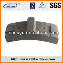 Composite railway brake block