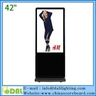 New style 42 inch floor standing lcd advertising player