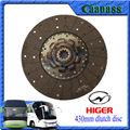 klq6129g ankai zhongtong yutong superior de ônibus peças sobressalentes 430mm disco de embreagem valeo