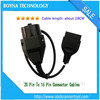 New Fast Shipping High Quality 20 Pin to 16 Pin OBD2 Female Auto Diagnostic Connector Adapter Cable for B-M-W