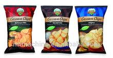 Cassava chips Making Machinery/ Corn Doritos /Tortilla Chip Snack Production Linelisatanghong(skype)0086-0531-15964515336
