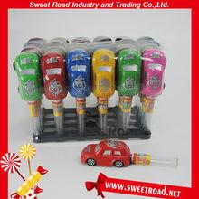 Plastic Mini Funny Car Toys Candy