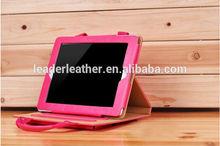 manufacture pu/ leather/nylon/leather ipad smart cover