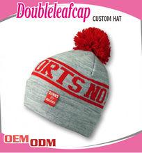 Custom Pom pom cotton beanie cap,100% cotton kufi crochet beanie skull cap knit hat