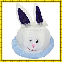 hot sale fashion rabbit hat decoration easter hat decoration easter decor