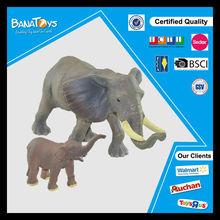 Hot animal toy set mini elephant and plastic elephant toy