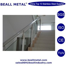 High quality 201 304 stainless steel indoor stair railings