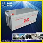 12v 200ah china solar batteries for solar system