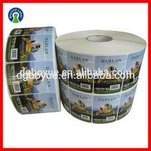 Printing Custom Adhesive Printed Waterproof Logo Labels,Custom Frozen Food Packing Sticker,Milk Bottle Label