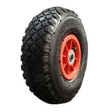 260x85 small pneumatic rubber wheel for hand trolley