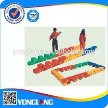 children multifunction Single-plank bridge walk the pier YL-DMQ001 6 piece whole set