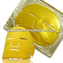 Hot Sale!! Beauty product for skin care 24k Skin Care Crystal Collagen Gold Mask 5pcs/box
