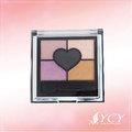 label seu make up quadrado brilhante sombra paleta