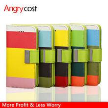 holesale 50pcs/lot, colorful contrast color phone case for iPhone 5c