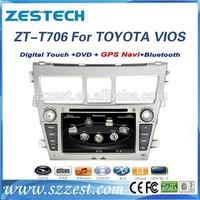 ZESTECH Auto DVD radio 2 Din car dvd player for Toyota Vios