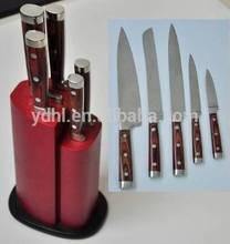 very good quality Japanese steel440C 5pcs knives set D02-6M01