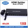 1.4 Version Full Ultra HD 4Kx2K Resolutions 8 ports HDMI Splitter Amplifier for Xbox360 PSs BluRay