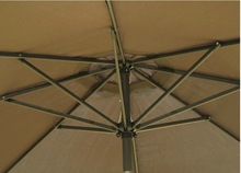 aluminum frame patio umbrella
