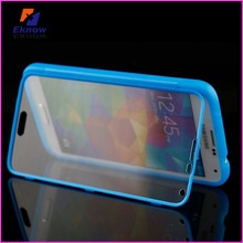 New desing TPU flip cover for samsung galaxy case with stand,For samsung galaxy S5 case