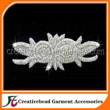 rhinestone crystal applique, rhinestone appliqued belt, crystal embellishments rhinestone applique