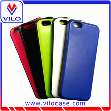 Fancy TPU stick Leather Blank Cell Phone Cases For iPhone 6 Sample Available