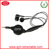 Fashion design retractable earbuds with MIC