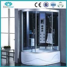 Right side hydro massage steam shower room