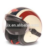 motorcycle open face helmet/jet helmet/vintage helmet JX-B205