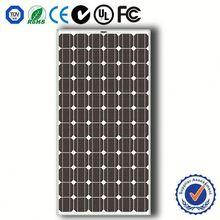 Monocrystalline silicon high power efficiency solar panels 250 watt